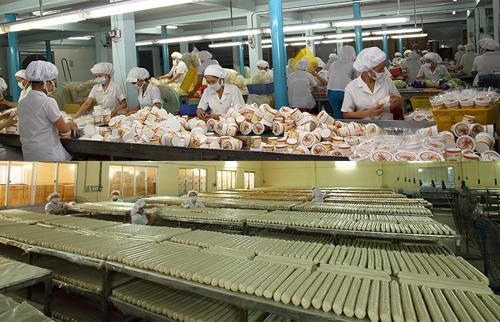越南米粉和虾片